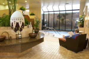 spa treatments and amenities