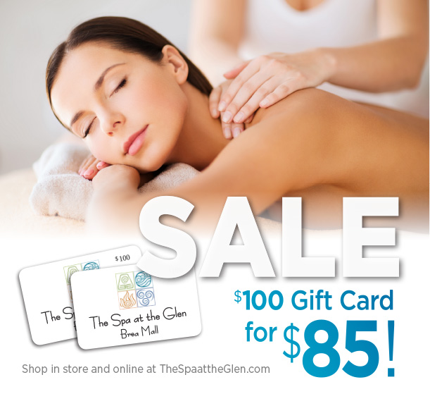 Instant gift certificate for Brea Spa