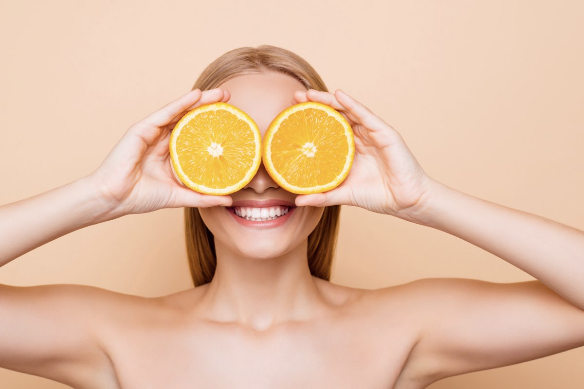 vitamin C is benificial to skin care